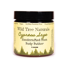 Load image into Gallery viewer, Cypress Sage Shea Body Butter