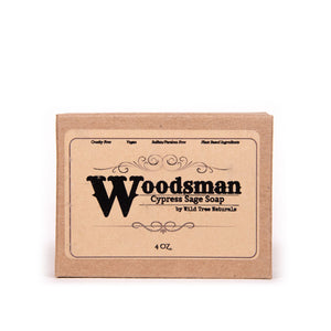 Woodsman Soap - Cypress Sage