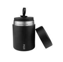 Load image into Gallery viewer, Black Canister (Bean Storage)