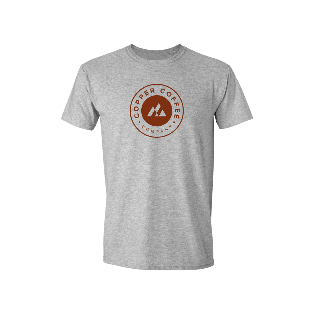 Heather Light Gray Tee