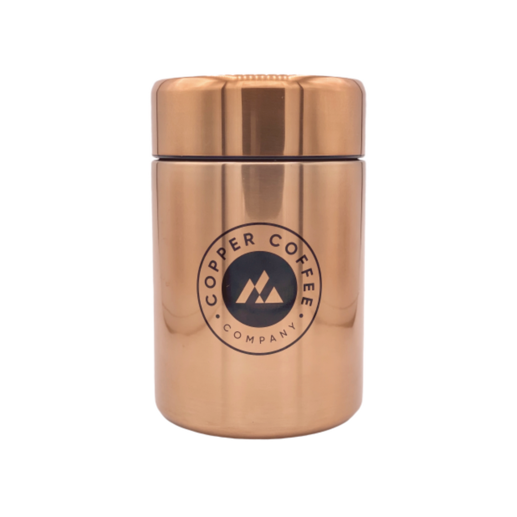 Copper Canister (Bean Storage)