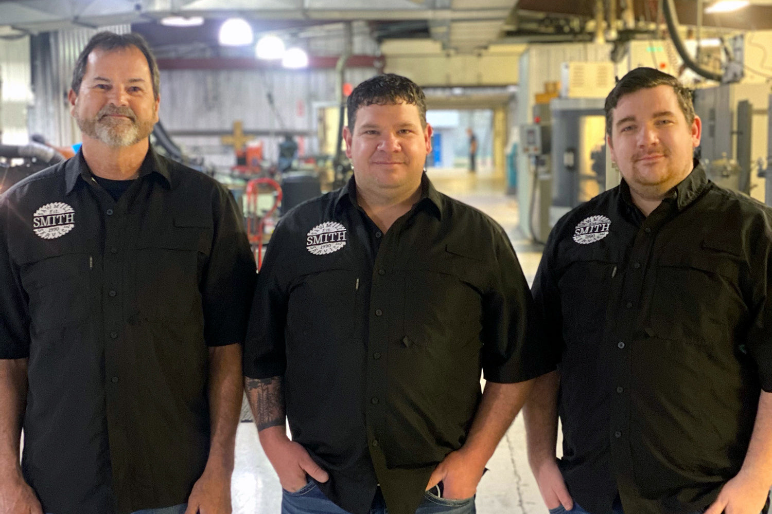 Smith Sawmill Service expands to North Carolina, Frank Curran, Michael Smith, Dustin Norris