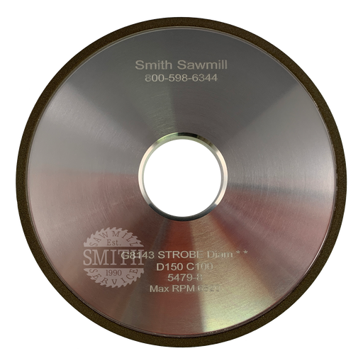 PCB 150 Wright Face Grinding Wheel, Smith Sawmill Service
