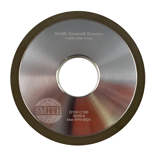 Diamond 150 4 Vollmer Side Grinding Wheel, Smith Sawmill Service