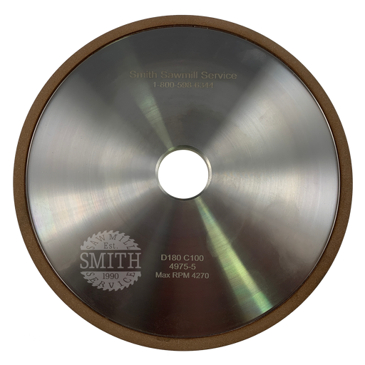 Diamond 180 8 Post Face Grinding Wheel, Smith Sawmill Service