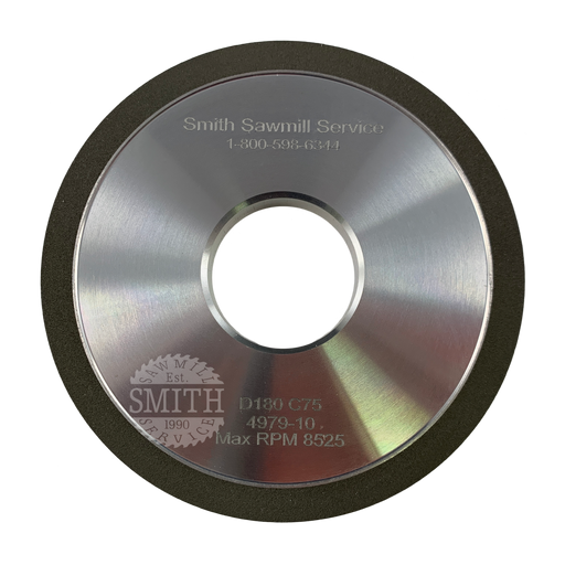 Diamond 180 C75 Vollmer Side Grinding Wheel, Smith Sawmill Service