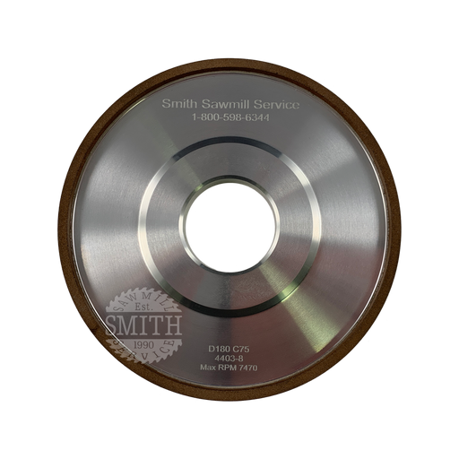 Diamond 180 Vollmer 115 mm Face Grinding Wheel, Smith Sawmill Service