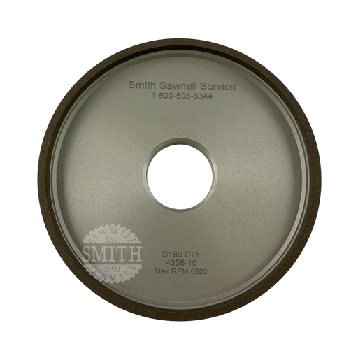 Diamond 180 Vollmer Top Grinding Wheel, Smith Sawmill Service
