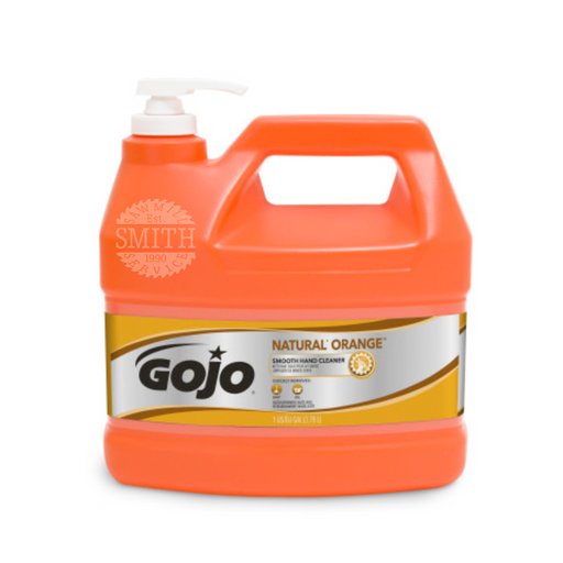 Gojo NATURAL ORANGE Smooth Hand Cleaner, Smith Sawmill Service