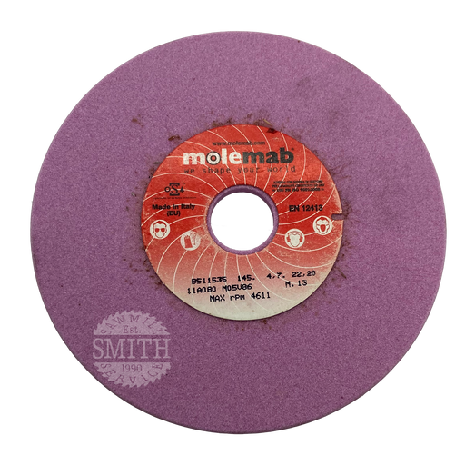 414-5160 - 145mm x 22mm, Grinding Wheel, Smith Sawmill Service