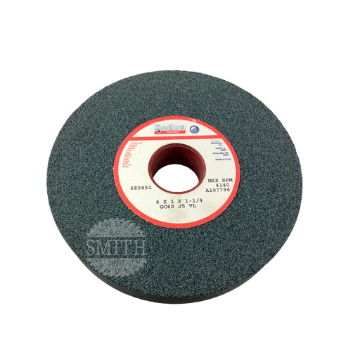 "A107794 - 6"" x 1"" x 1.25""B Dressing Wheel, Smith Sawmill Service"
