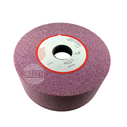 "G214035 - 10"" x 4"" x 2""B Pink Knife Grinding Wheel, Smith Sawmill Service"
