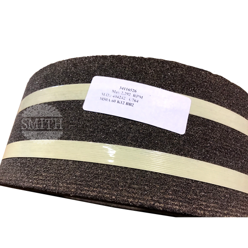 "P1031-U764 - 10"" x 3"" x 1"" Brown Knife Grinding Wheel, Smith Sawmill Service"