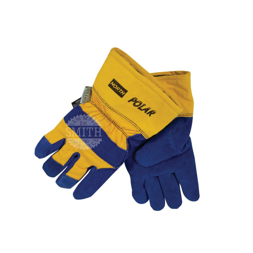 NORTH POLAR® Insulated Leather Palm Gloves, Smith Sawmill Service