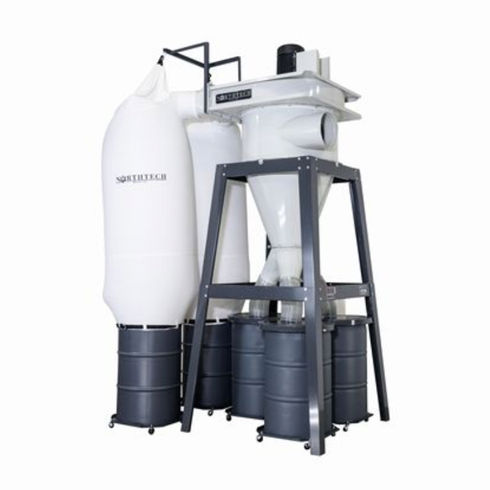 NorthTech Dust Collector NT 2ST-15XL-1534, Smith Sawmill Service