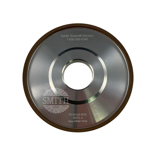 PCB 120 Vollmer Narrow Grit Face Grinding Wheel, Smith Sawmill Service
