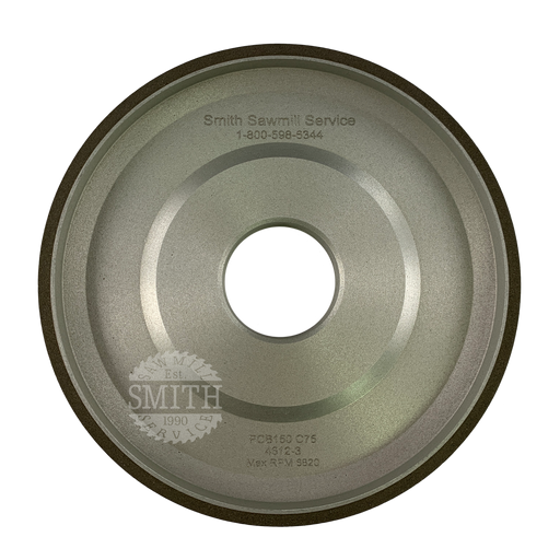 PCB 150 125mm Vollmer Top Grinding Wheel, Smith Sawmill Service