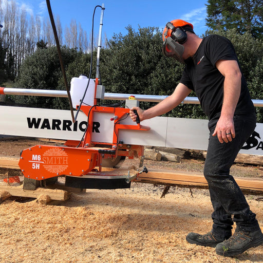 Hobby Warrior Swing-Blade Sawmill, Smith Sawmill Service