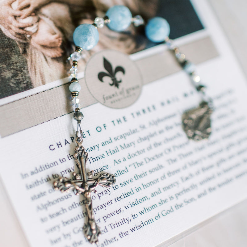 Chaplet of 3 Hail Marys