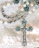 Custom Bride and Groom Name Rosary