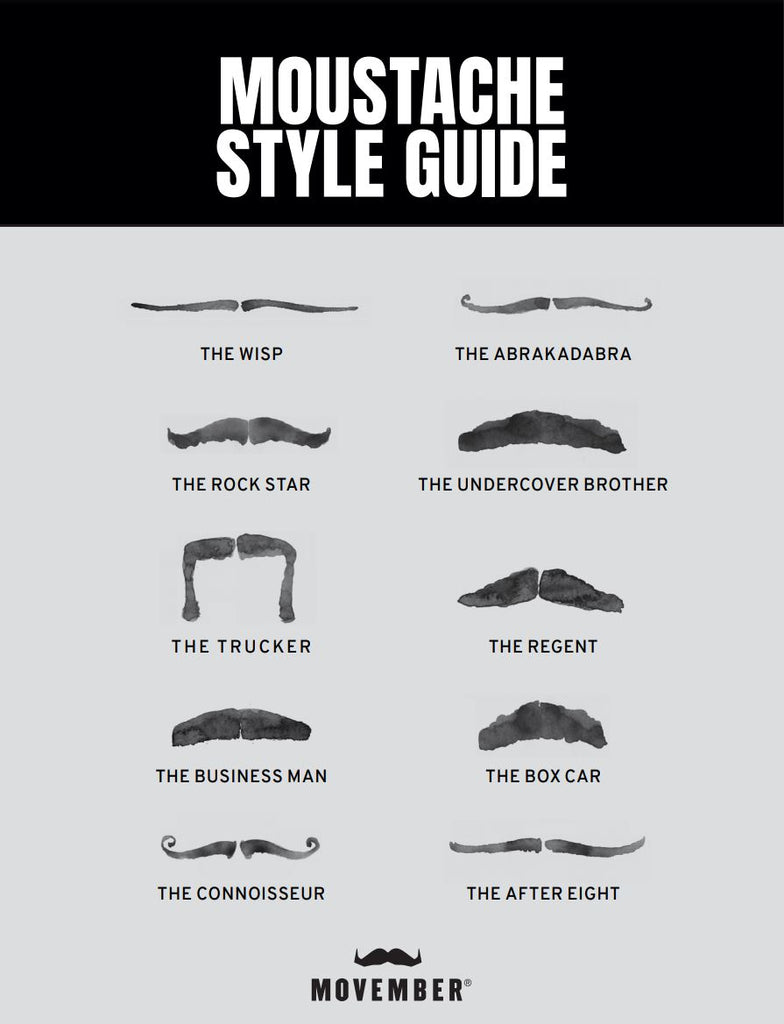 how to shape a moustache - movember style guide