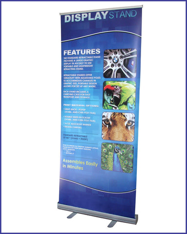R160 Retractable Banner | 33'' x 79''