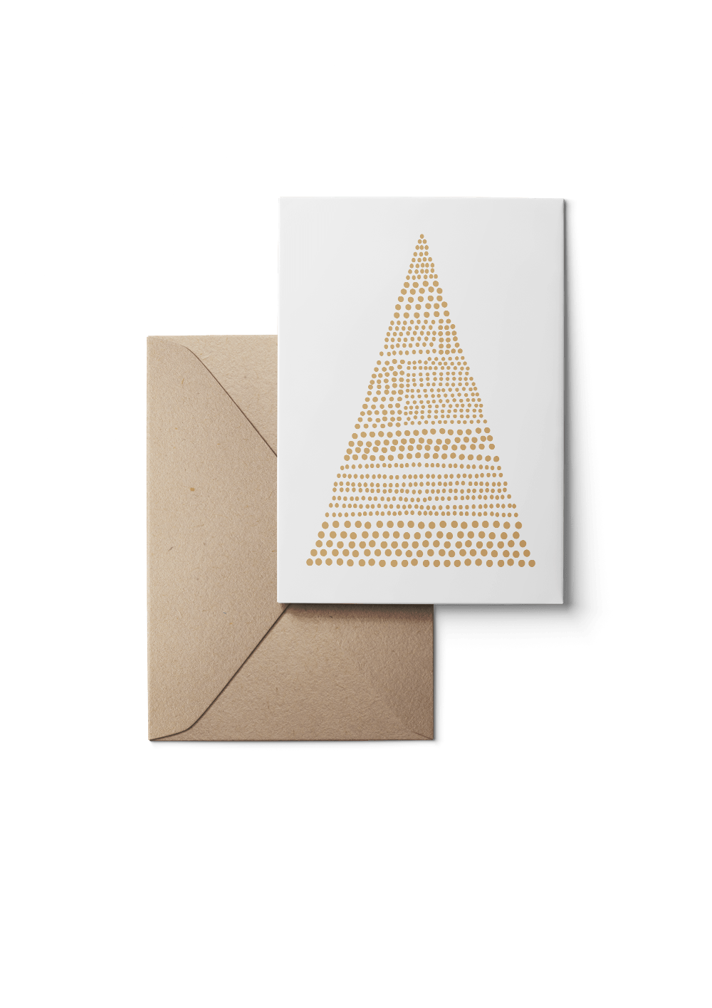 Bells, Beige, Eco, 6 Karten Set by Karten Design Fabrik. Supplier of designer Greeting Cards, Gift Wrap, Christmas Cards & Invitations to leading design stores including Connox, Modulor, Magazin & Manufactum.