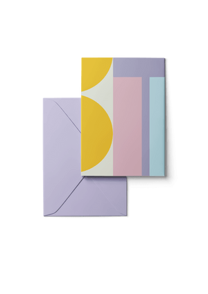 Blue Moon, Mini, 6 Karten Set by Karten Design Fabrik. Supplier of designer Greeting Cards, Gift Wrap, Christmas Cards & Invitations to leading design stores including Connox, Modulor, Magazin & Manufactum.