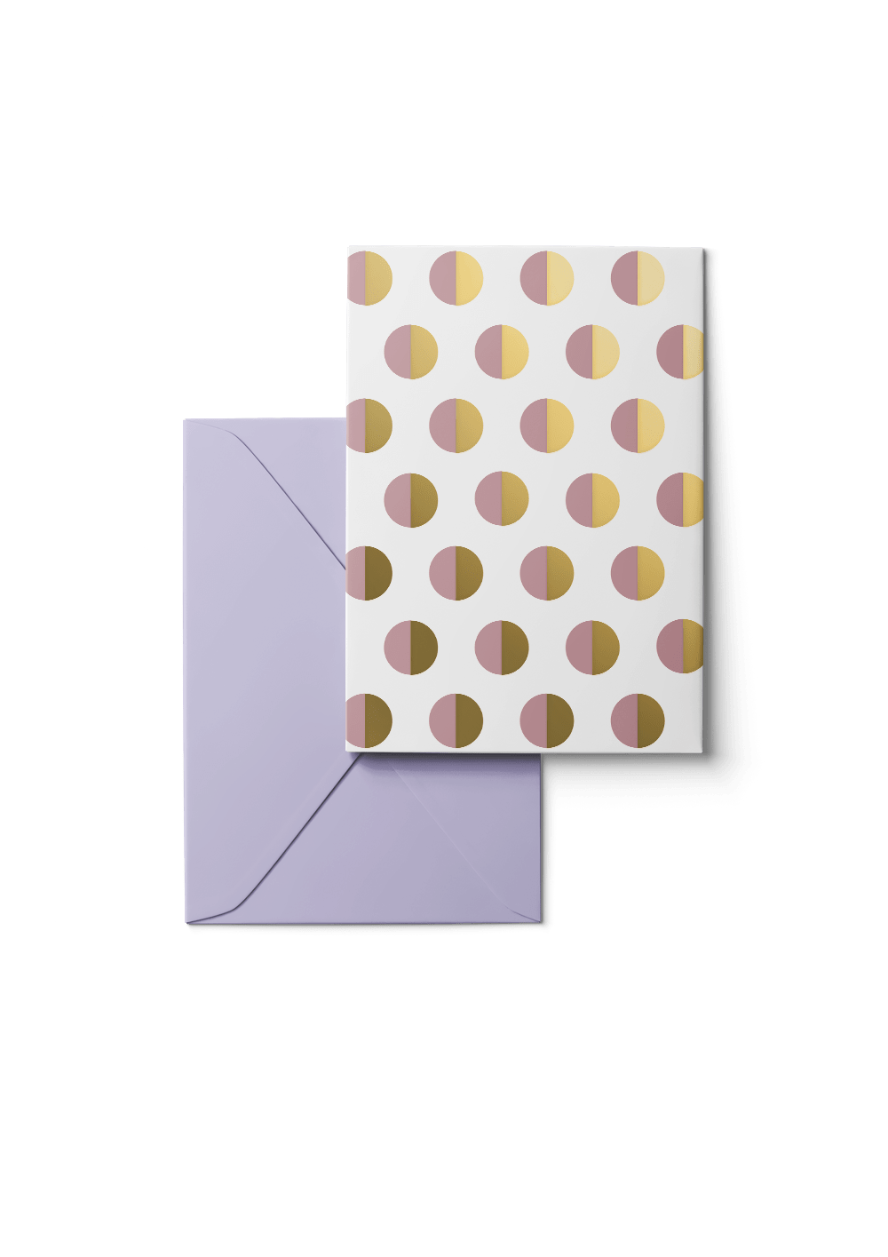Crescent Moon, Gold, 6 Karten Set by Karten Design Fabrik. Supplier of designer Greeting Cards, Gift Wrap, Christmas Cards & Invitations to leading design stores including Connox, Modulor, Magazin & Manufactum.