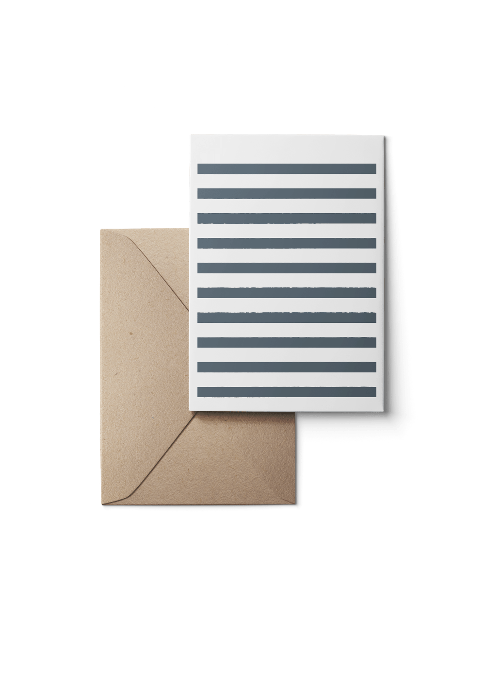 Custom Stripetown, Navy, Eco, 6 Karten Set by Karten Design Fabrik. Supplier of designer Greeting Cards, Gift Wrap, Christmas Cards & Invitations to leading design stores including Connox, Modulor, Magazin & Manufactum.