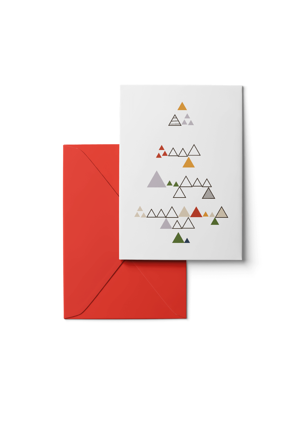 Custom Wooded Hills, Multi, 6 Karten Set by Karten Design Fabrik. Supplier of designer Greeting Cards, Gift Wrap, Christmas Cards & Invitations to leading design stores including Connox, Modulor, Magazin & Manufactum.