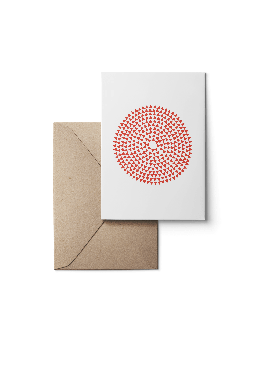 Murmurs, Red, Eco, Grußkarte, 6 Karten Set by Karten Design Fabrik. Supplier of designer Greeting Cards, Gift Wrap, Christmas Cards & Invitations to leading design stores including Connox, Modulor, Magazin & Manufactum.