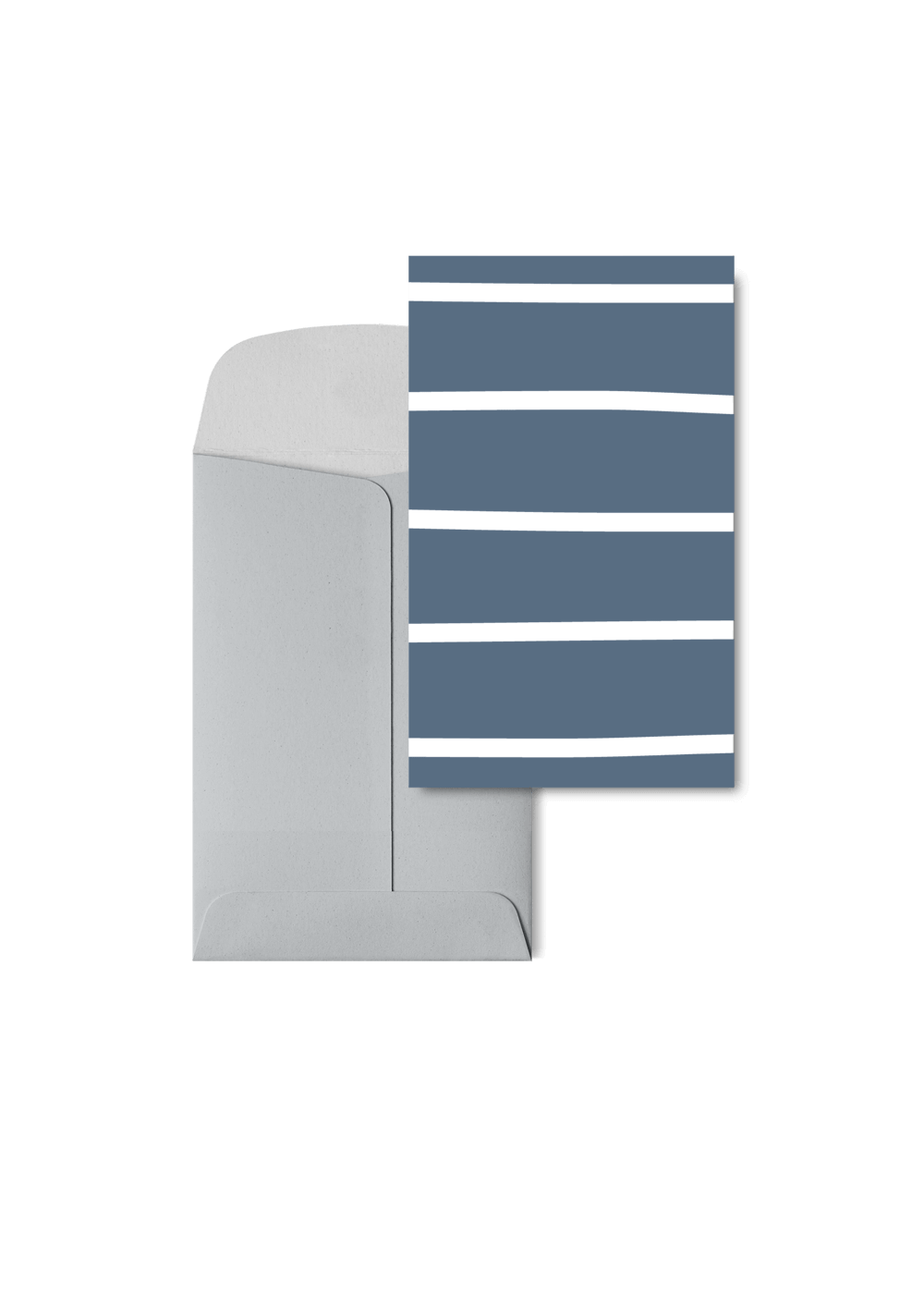Stripetown Navy, 6 Karten Set by Karten Design Fabrik. Supplier of designer Greeting Cards, Gift Wrap, Christmas Cards & Invitations to leading design stores including Connox, Modulor, Magazin & Manufactum.