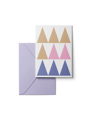 White Lakes, One, 6 Karten Set by Karten Design Fabrik. Supplier of designer Greeting Cards, Gift Wrap, Christmas Cards & Invitations to leading design stores including Connox, Modulor, Magazin & Manufactum.