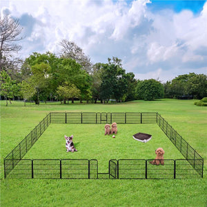 Yaheetech Dog Playpen 32 Panels 24 Inch