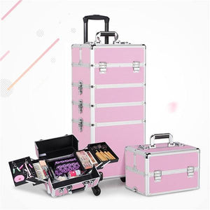 Yaheetech Makeup Case 4 in 1