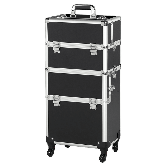 Yaheetech Makeup Train Case 3 In 1