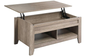 Yaheetech Lift Top Coffee Table Gray