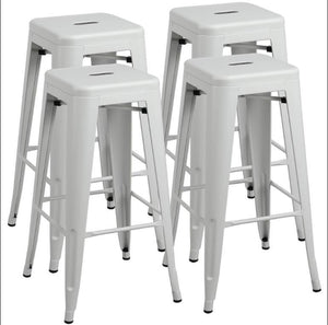 Yaheetech Bar Stools 4pcs