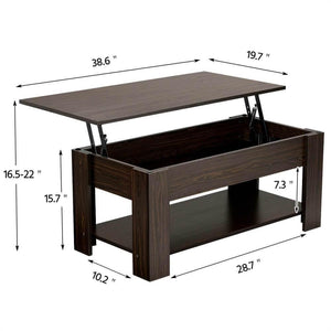 Yaheetech Lift Top Coffee Table