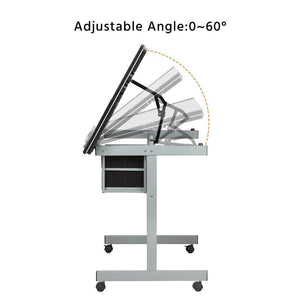 Adjustable Drafting Table Drawing Desk