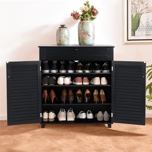 Yaheetech Storage Cabinet with Drawer