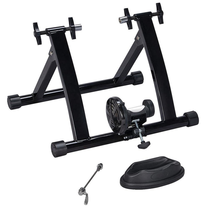 Yaheetech Foldable Indoor Bike Trainer