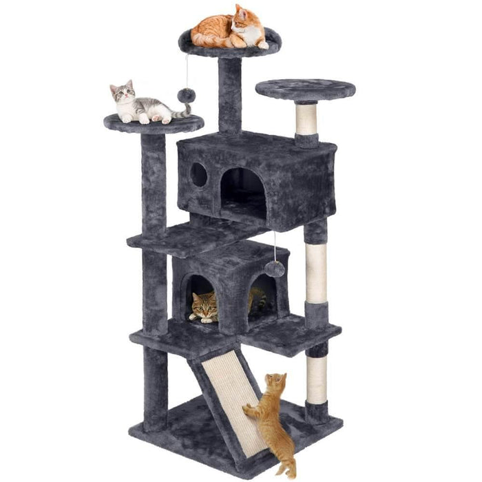 Yaheetech Kitten Tree Tower 54 Inch