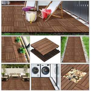 Yaheetech Outdoor Tiles 27pcs