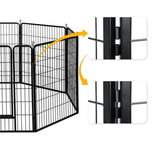 Yaheetech Dog Playpen 16 Panels 40 Inch
