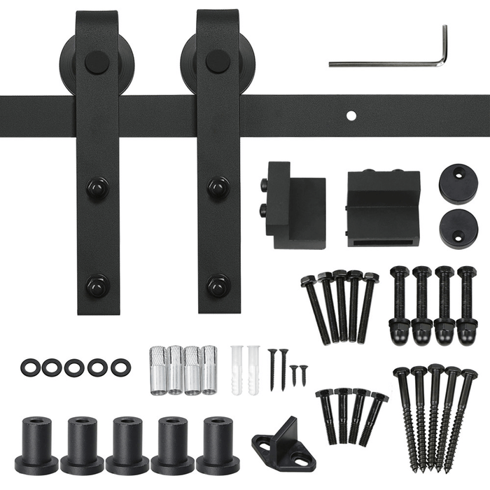 Yaheetech 6.6Ft Heavy Duty Sliding Barn Door Hardware