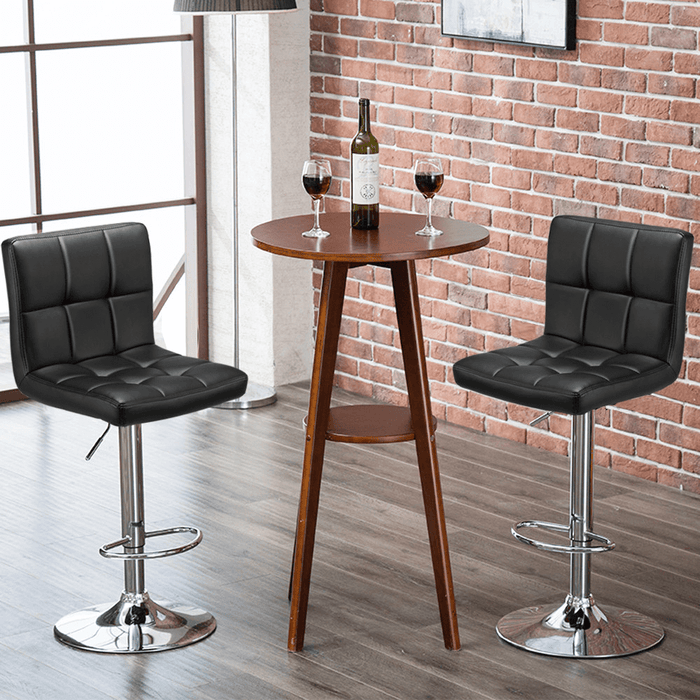 Yaheetech Swivel Bar Stools 2pcs