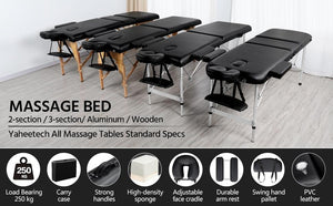 Yaheetech Massage Bed Spa Table