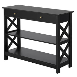 Yaheetech Console Table 3 Tiers